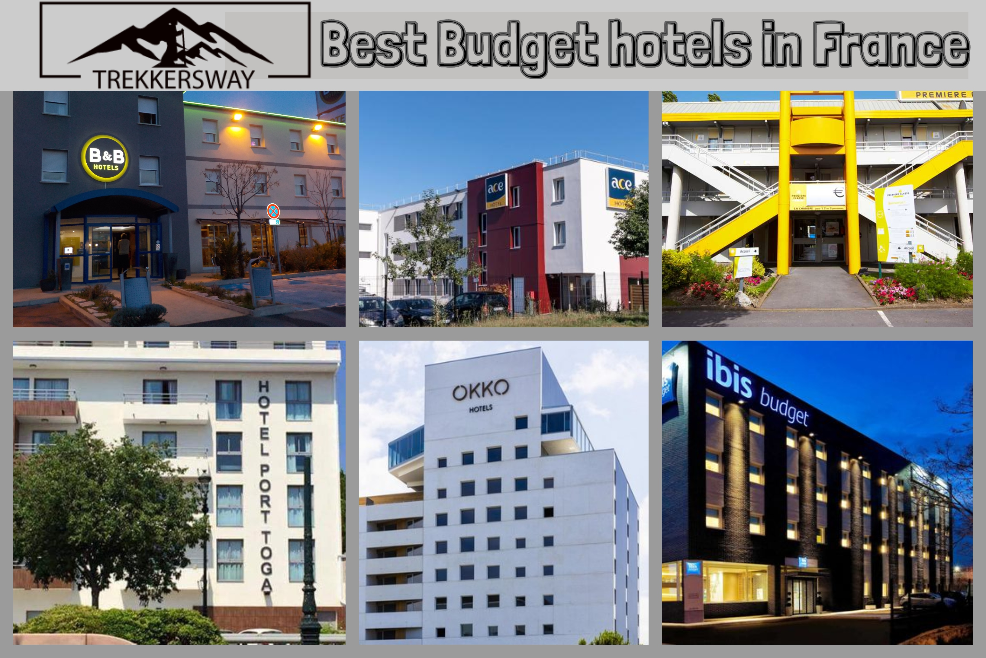 Best Budget hotels in France