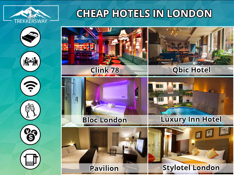 Cheap hotels in London | budget hotels London