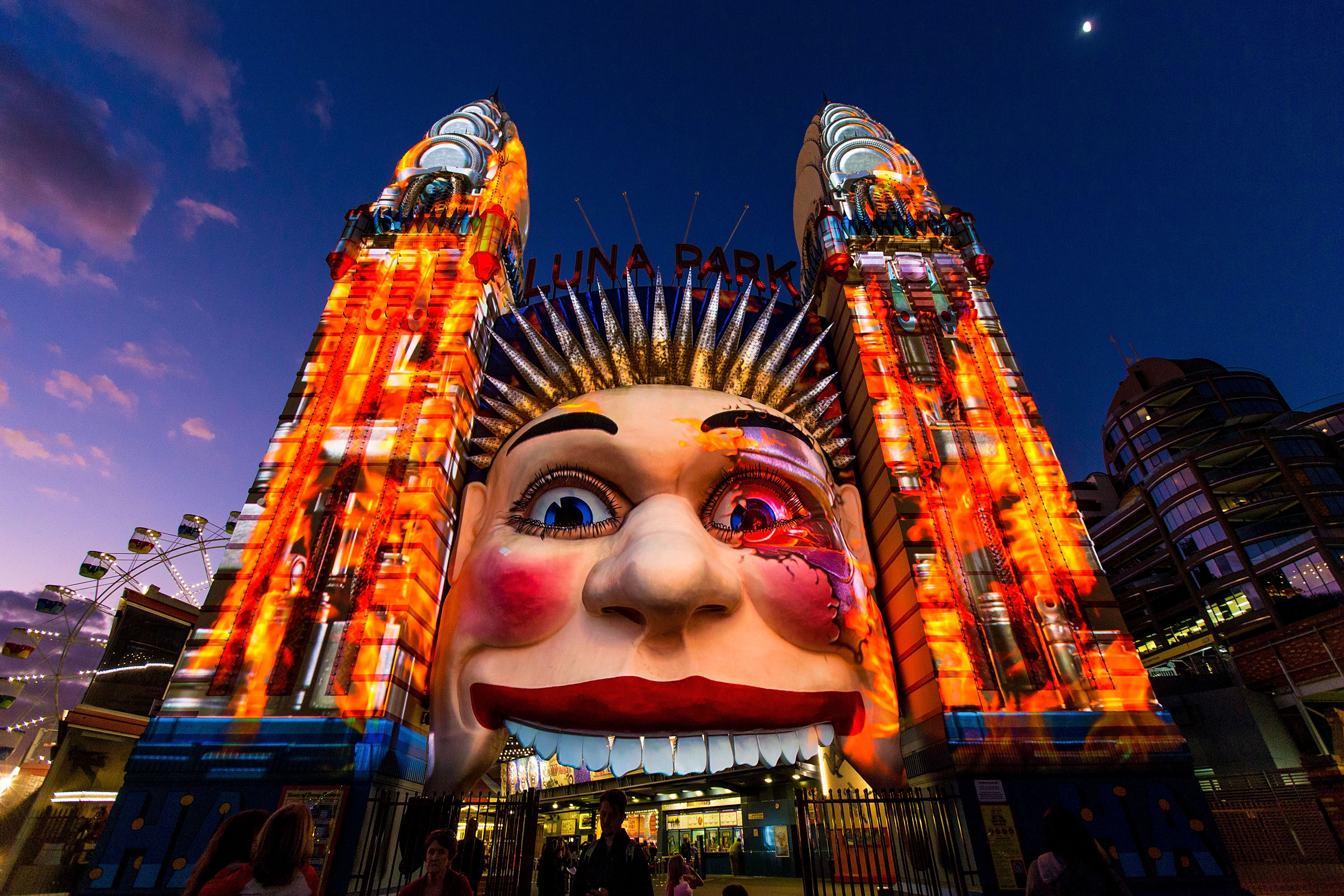 Luna park Sydney, Things to do in Sydney at night