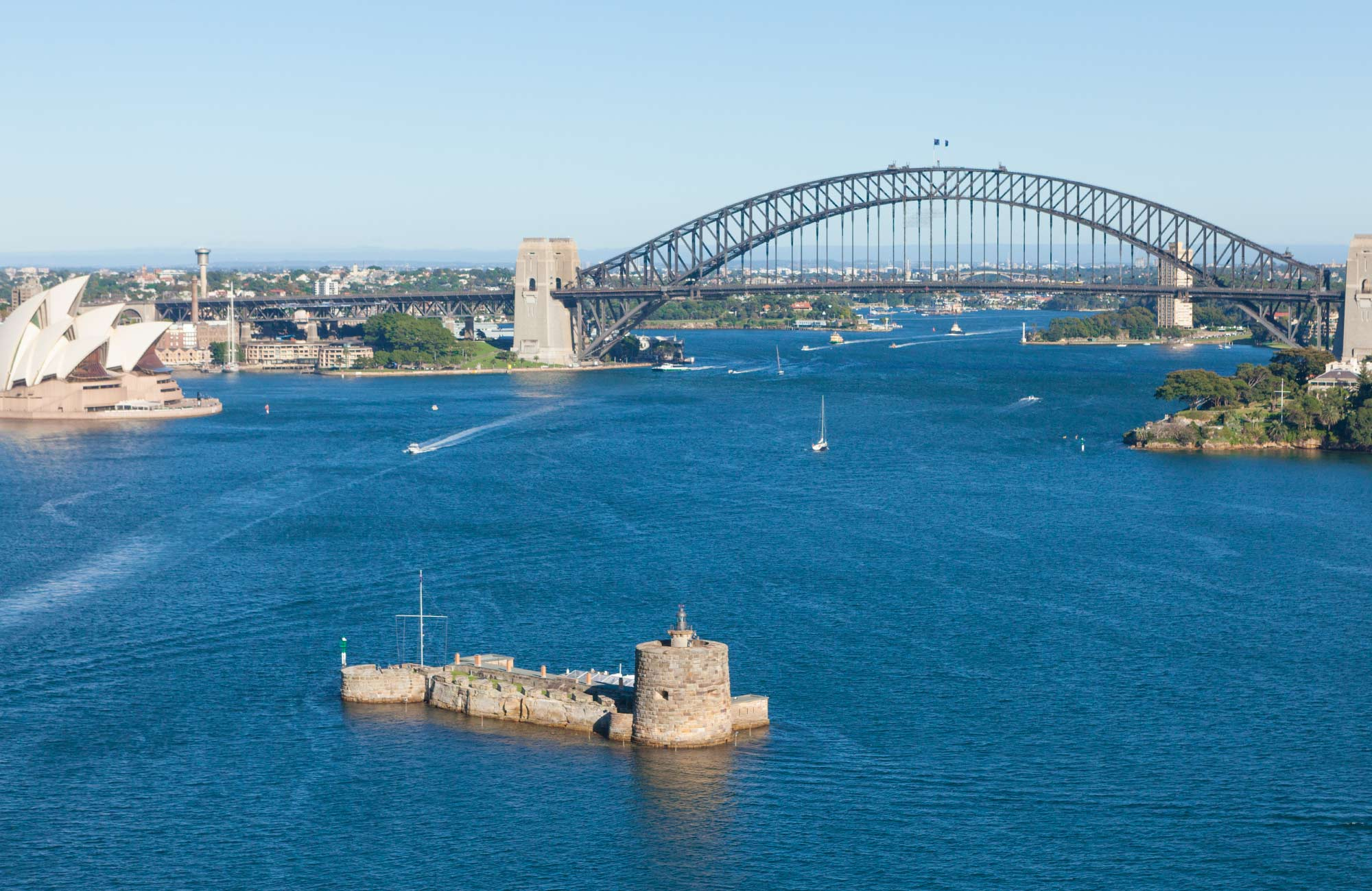 Sydney Harbor National Park in Sydney