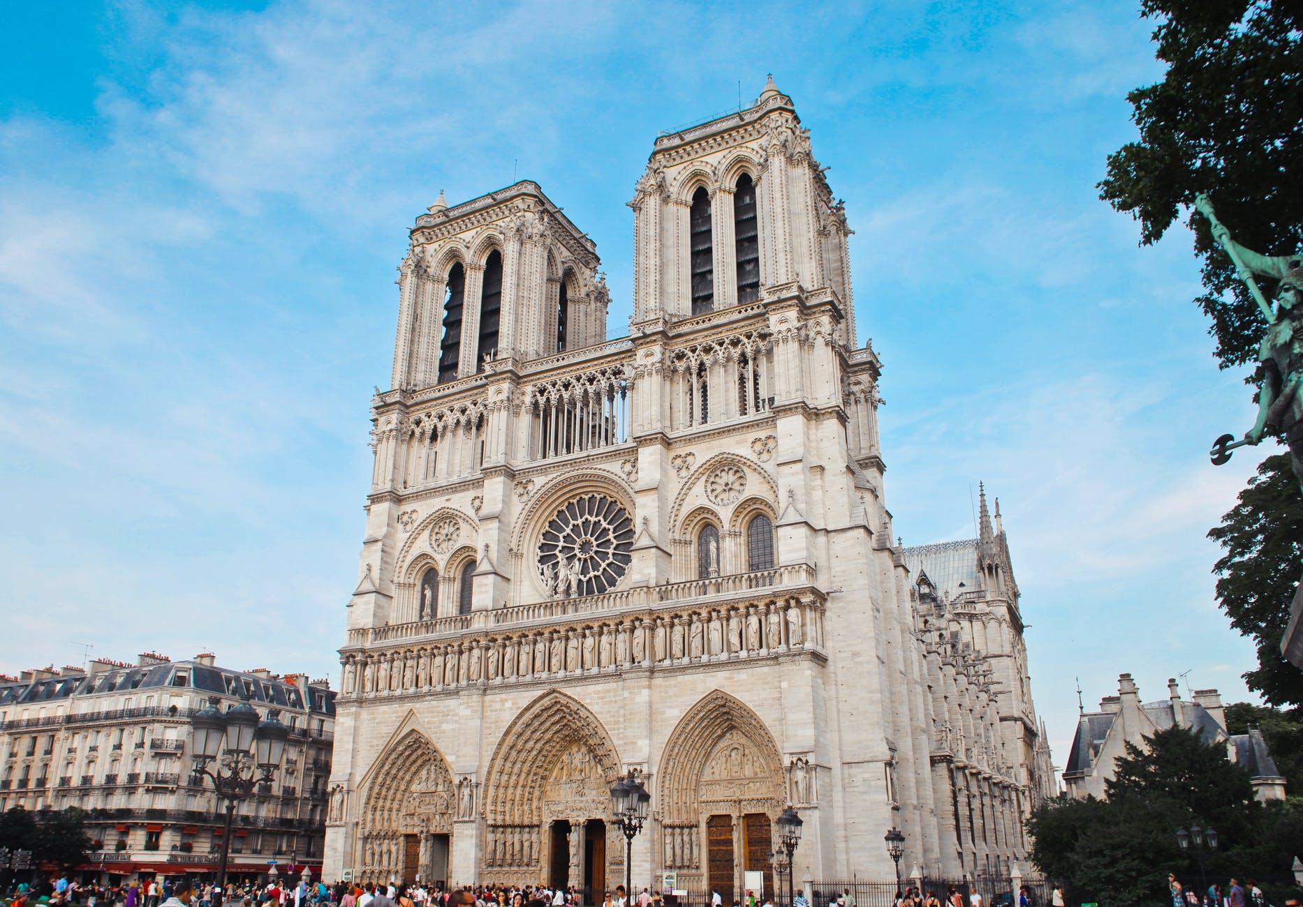 Notre Dame de Paris, Paris, France most famous churches in the world